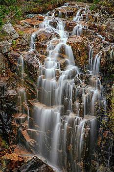 Acadia's Hadlock Falls by Rick Berk