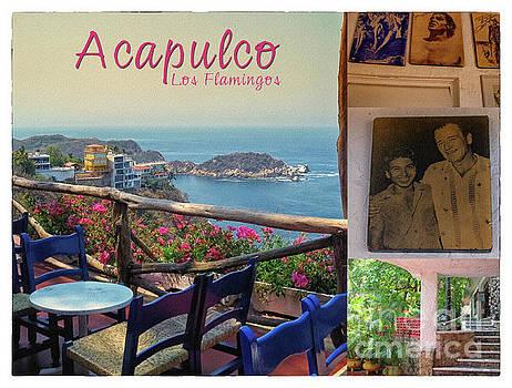 Tatiana Travelways - Acapulco Los Flamingos Vintage Poster