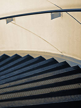 Accordion Stairs by Ron Dubin
