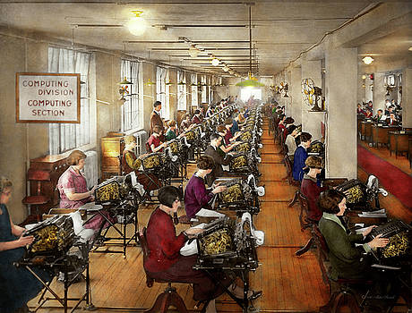 Mike Savad - Accountant - The enumeration division 1924