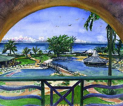 Accra Beach Hotel Barbados by John D Benson