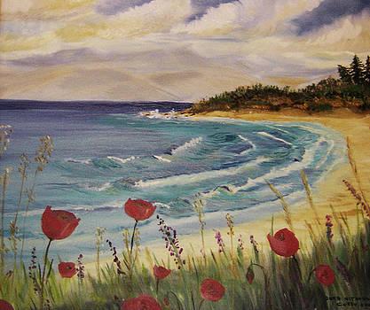 Acharawii beach nr 3 by Anna Witkowska