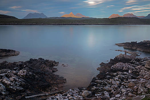 Achnahaird Bay and Assynt Mountains by Derek Beattie