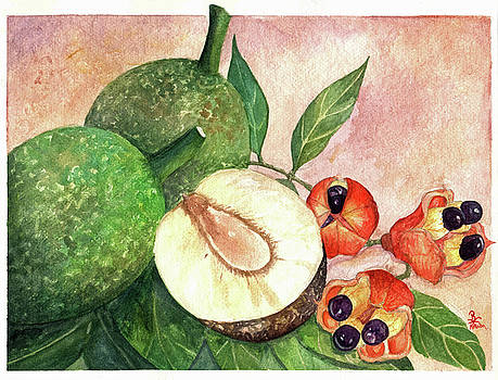 Ackee and Breadfruit by Kavion Robinson
