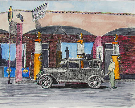 Acme Garage by Ron Enderland