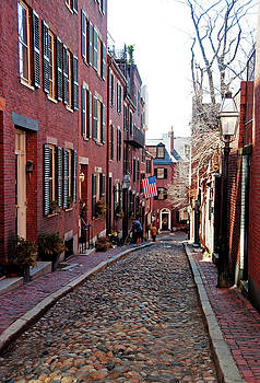 Wayne Marshall Chase - Acorn Street Beacon Hill