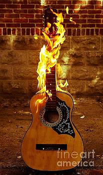 Acoustic Fire 1 by Patrick Rodio