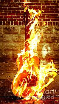 Acoustic Fire 4 by Patrick Rodio