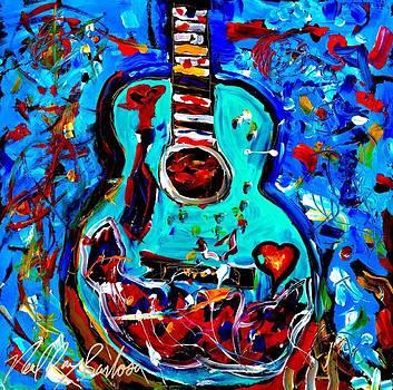 Acoustic love guitar by Neal Barbosa