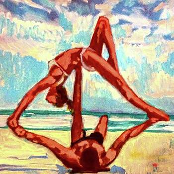 Acro Yoga by Kimberly Dawn Clayton