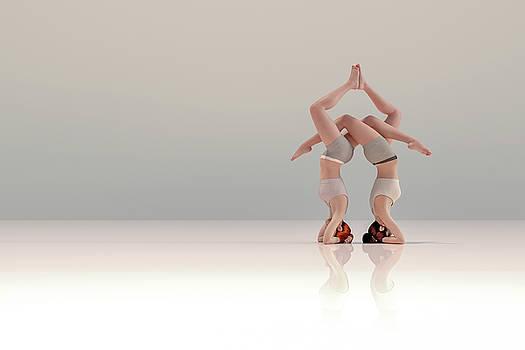 Acro Yoga One by Betsy Knapp