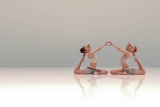 Acro Yoga Two by Betsy Knapp