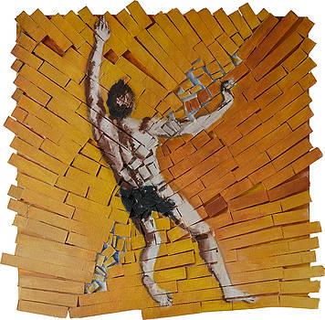 Acrobat in Fragments by Nicholas Stedman