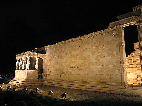 Acropolis Erechtheion 1 by Jelena Ignjatovic