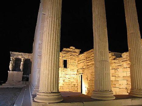 Acropolis Erechtheion 2 by Jelena Ignjatovic