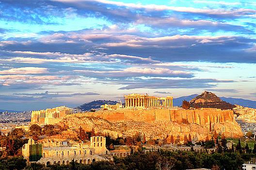 Acropolis of Athens by Fabrizio Troiani