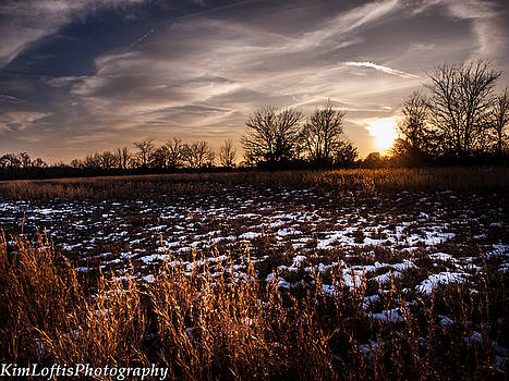 Across the frozen fields  by Kim Loftis