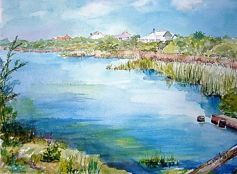 Across The Lake by Dorothy Herron