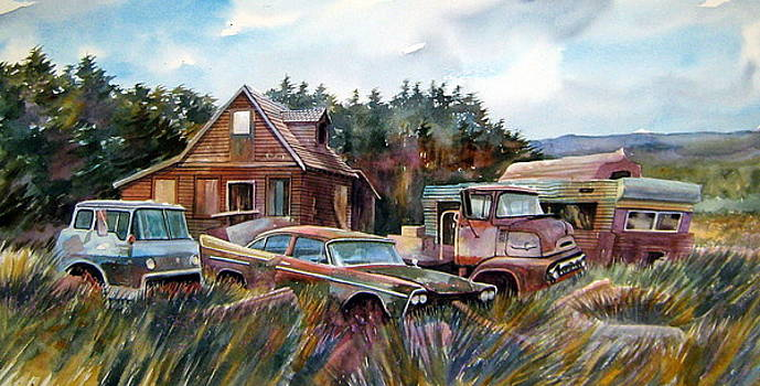 Across the Road and Gone by Ron  Morrison
