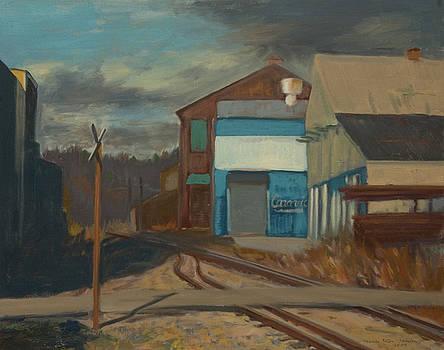 Across the Tracks by Martha Ressler