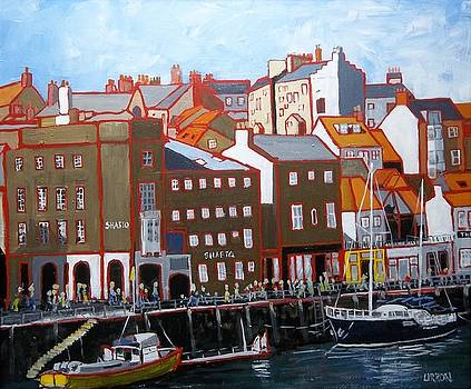 Across Whitby Harbour by Fred Urron