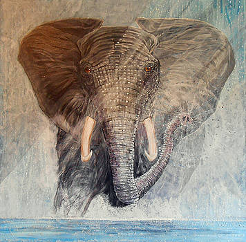 Acrylic by Sandra Wilson