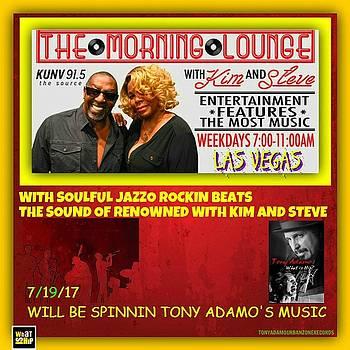 Ad For KUNV Radio by Tony Adamo