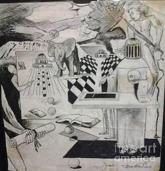 Ad Qaudratum E Sephiroth by Jude Darrien
