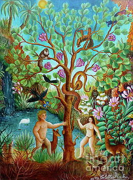 Adam And Eve by Colette Raker
