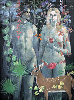Adam and Eve by Maury Hurt