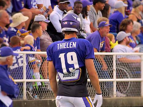 Adam Thielen by Kyle West