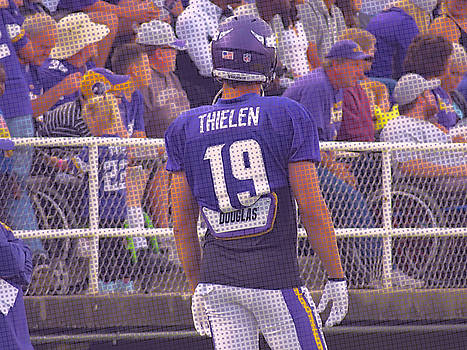 Kyle West - Adam Thielen with Purple Effect