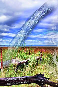Adding Fresh Water Shortly by Cathy Beharriell