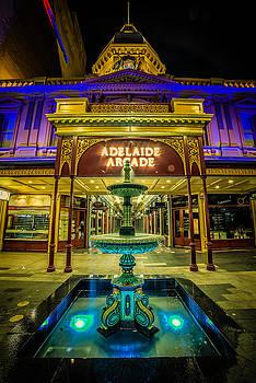 Adelaide Arcade Facade by Ray Warren