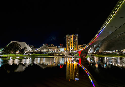 Adelaide Riverbank by Ray Warren
