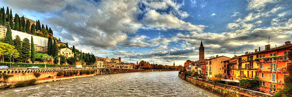 Adige River by Darin Williams
