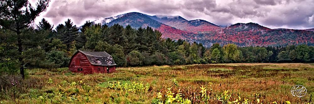 Adirondack Barn by Brad Hoyt