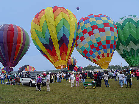 Adirondack Hot Air Balloons by Reni Boisvert