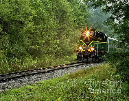 Adirondack RR by Phil Spitze