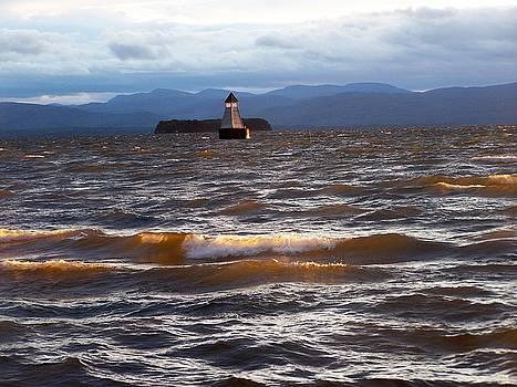 Adirondacks from Champlain by Jeff Moose