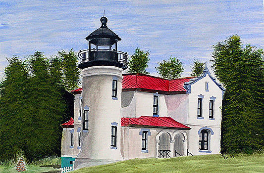 Admiralty Head Lighthouse by Mary Gaines