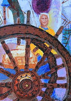 Admiring The Wheel by Chrys Wilson