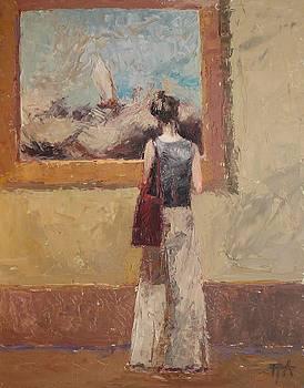 Admiring Turner by Irena  Jablonski