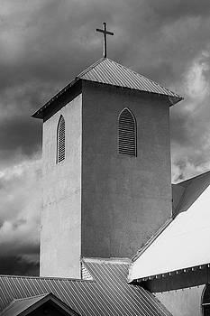 Adobe Church Steeple by Steven Bateson