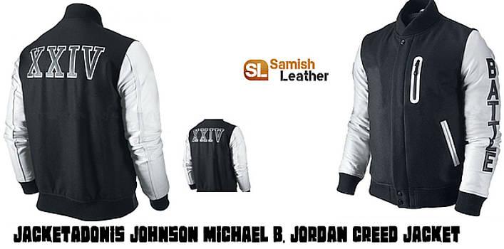 e451832cd64b4b Adonis Johnson Michael B. Jordan Creed Jacket by Adonis Johnson