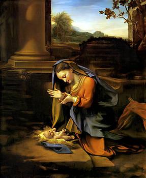 Adoration of the Child by Correggio