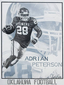 Adrian Peterson by Raymond Potts
