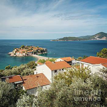 Sophie McAulay - Adriatic historic village of Sveti Stefan
