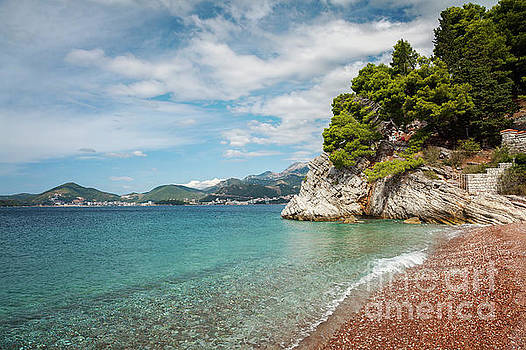 Adriatic sea landscape by Sophie McAulay