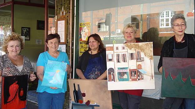 Adult art classes by Croydon Art studio